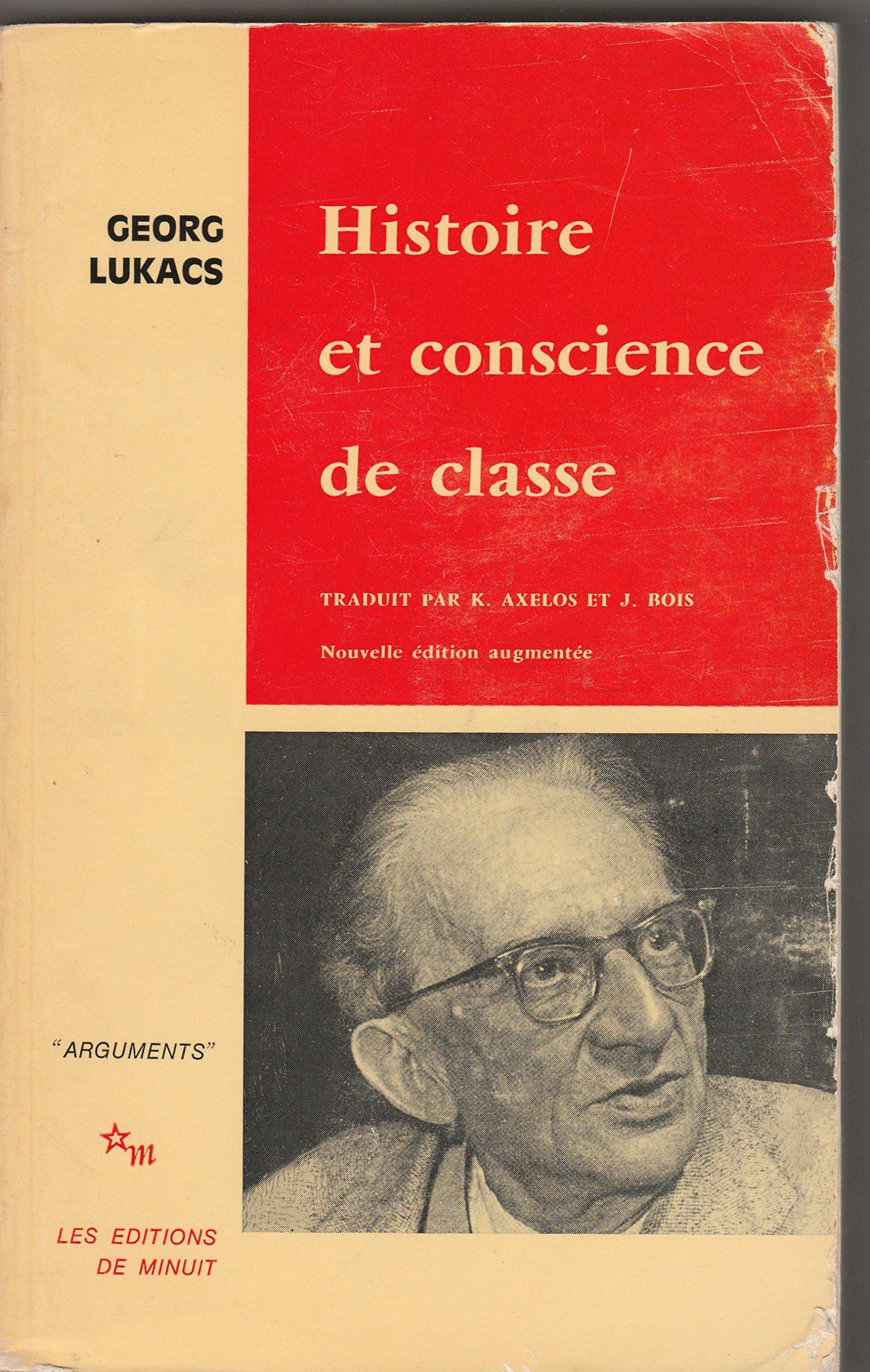 """Résultat de recherche d'images pour """"Histoire et conscience de classe : Essai de dialectique marxiste - Georg Lukacs"""""""