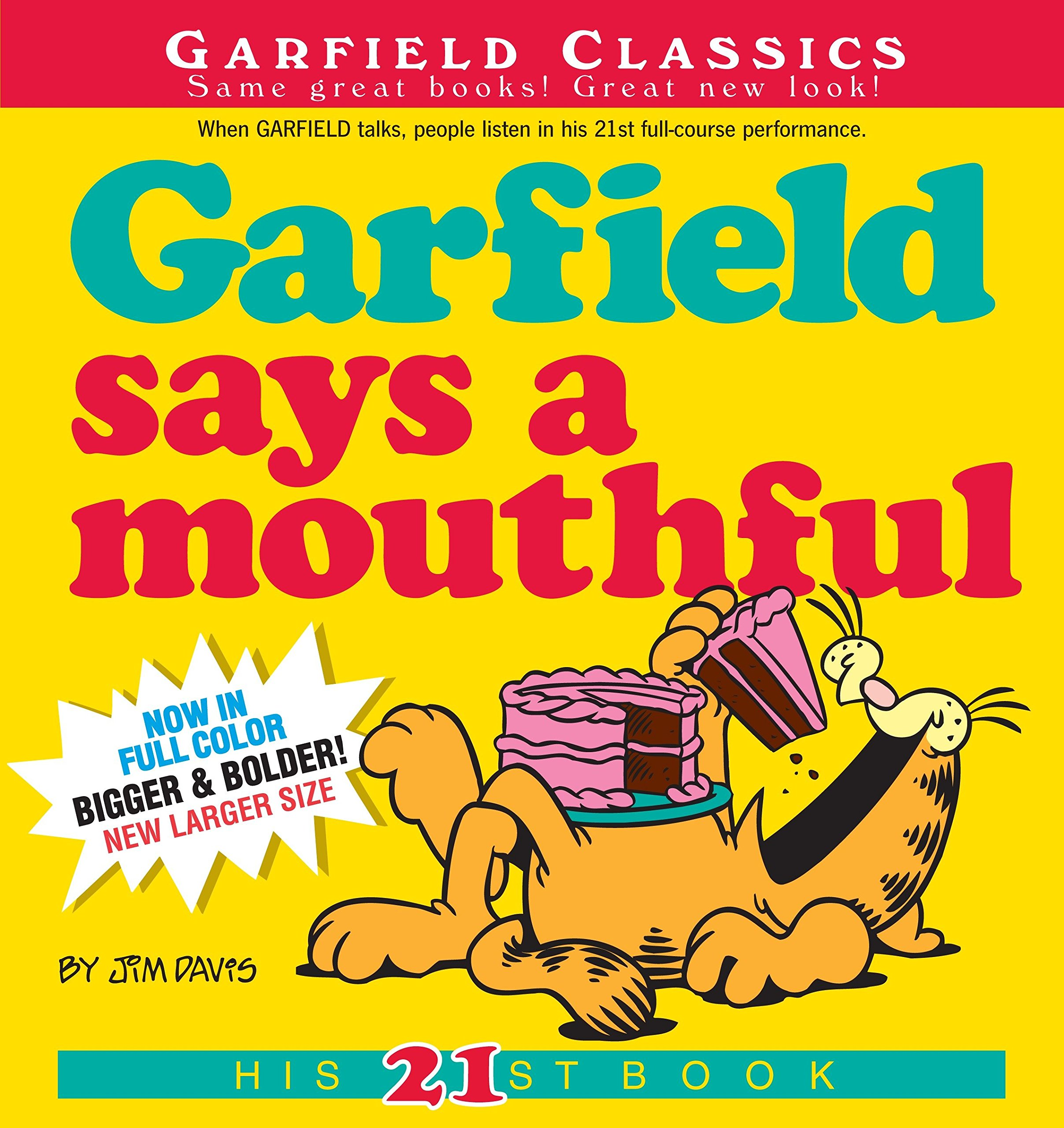Download Garfield Says A Mouthful: His 21st Book PDF