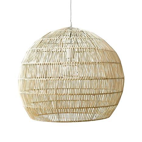 Kenay Home Wave Lámpara de Techo Decorativa, Color Natural ...