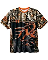Legendary Whitetails Mens Carbon Buck Short Sleeve Tee