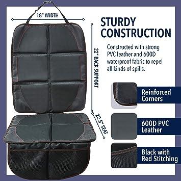 Amazon.com: Adjustable Car Seat Protector – Super ...