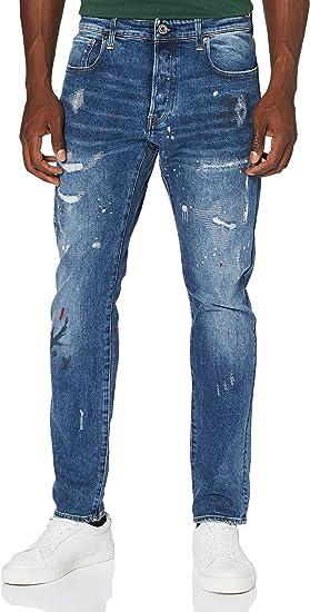 G-Star Raw メンズ 3301 スリムジーンズ