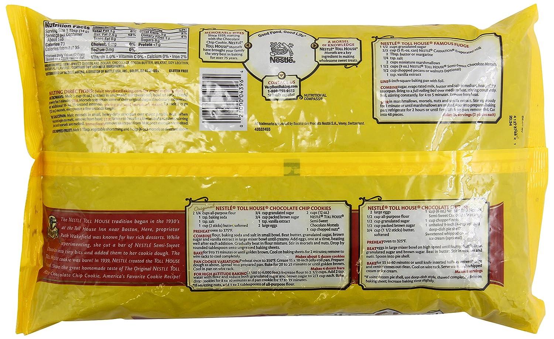 Amazon.com : Nestle Chocolate Semi-Sweet Morsels - 72 oz. bag ...