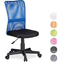 Relaxdays Silla Oficina Ergonómica Regulable, 102 x 55