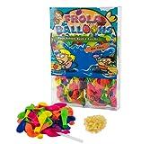 Neue Schnelle Füllen Instrument den Wasserballons Kurzzeitig Füllen Kit - 1000 Ballons + 1000 Gummibänder + 5 Schnell und Einfach mal Instrumente DIY Spielzeug (PVC BOX)