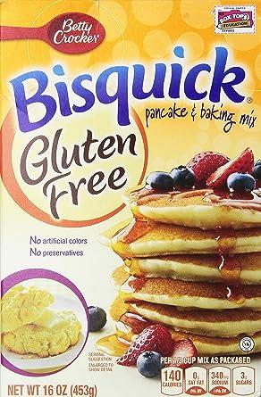 Bisquick sin gluten Pancake y Mix de hornear, 16 oz 2-Pack ...