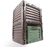 4smile Komposter, 1 Stück in anthrazit / dunkelgrün | ca. 300 Liter