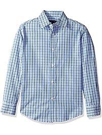 Tommy Hilfiger Boys Long Sleeve Cross Gingham Dress Shirt Dress Shirt