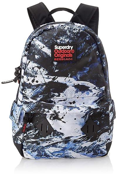 Superdry - Abstract Alpine Mountain Backp, Mochilas Hombre, Gris (Ice Mountain), 30x45x15 cm (W x H L): Amazon.es: Zapatos y complementos