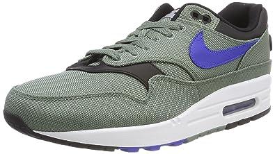 5d7c6c25b2 Nike Men's Air Max 1 Premium Gymnastics Shoes, (Clay Green/Hyper Royal/