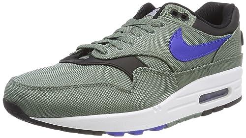 Nike Air MAX 1 Premium, Zapatillas de Gimnasia para Hombre, Verde (Clay GreenHyper RoyalWhiteb 300), 44 EU