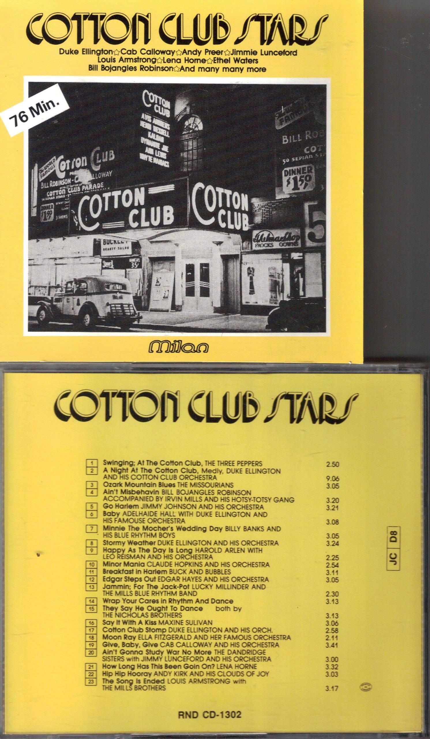 Cotton Club Stars