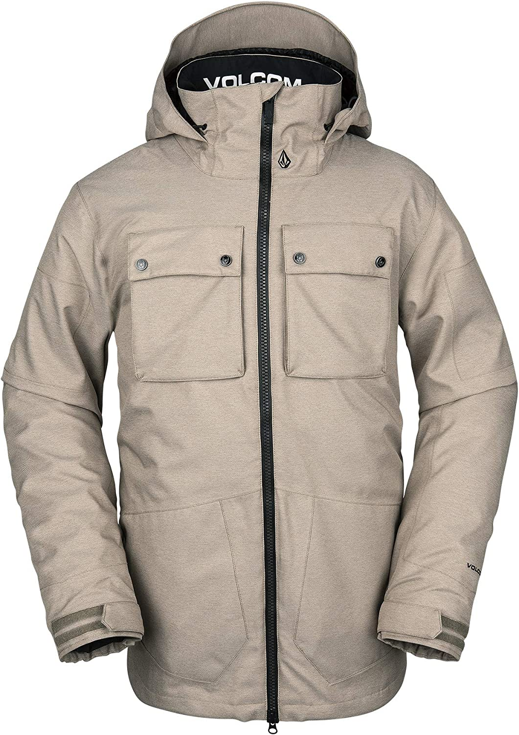 Volcom Mens Pat Moore 3-in-1 2 Layer Stretch Snow Jacket