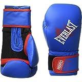 Everlast Prospect Youth Training Gloves, Blue, red