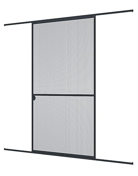 WINDHAGER 3844 - Experto Puerta corredera de Insectos, 120 x 240 cm, Antracita/