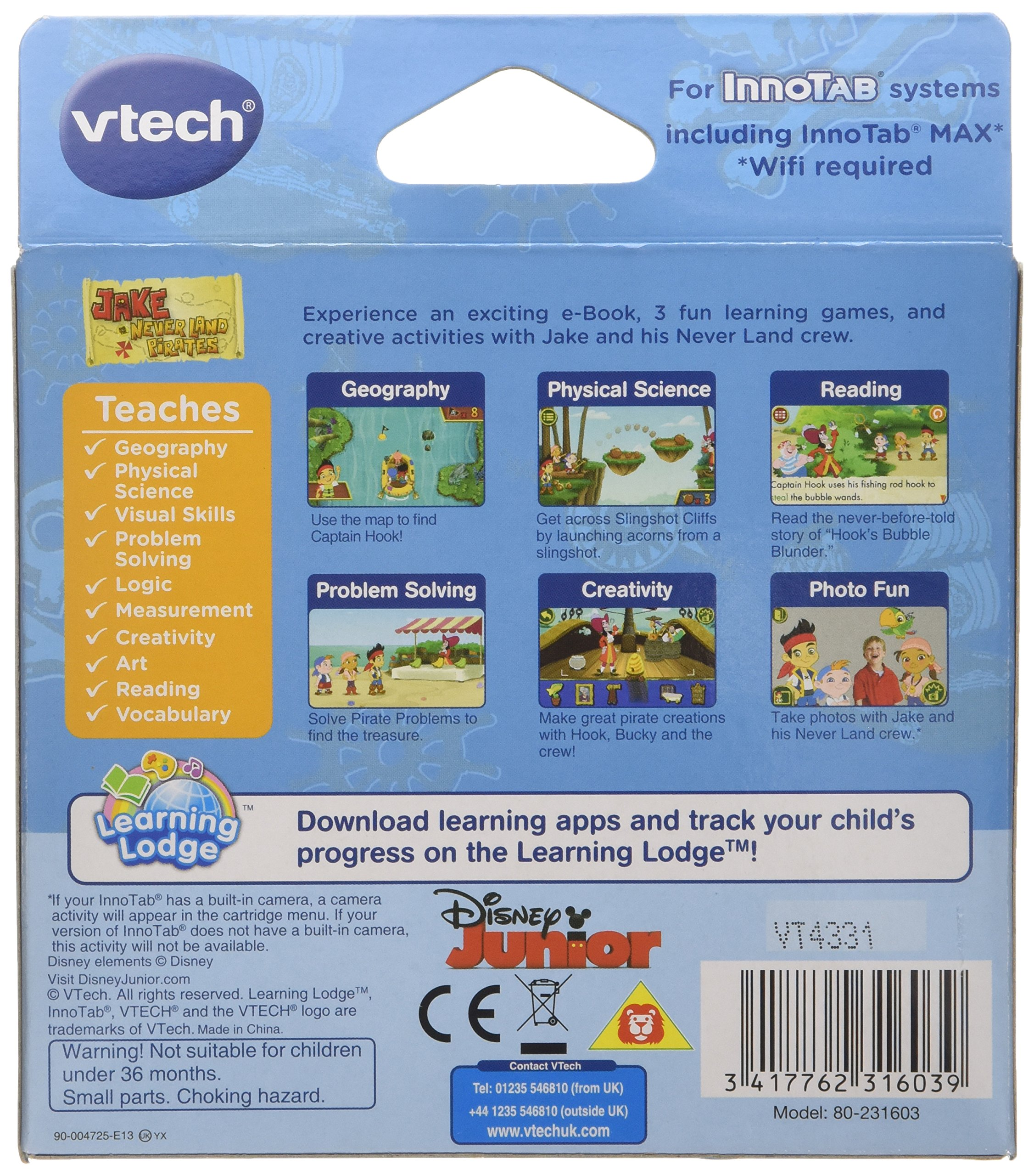 VTech InnoTab Game - Jake and the Neverland Pirates by VTech (Image #2)