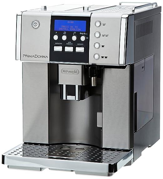 DeLonghi ESAM6620, Acero inoxidable, 1350 W, 285 x 420 x 380 mm ...