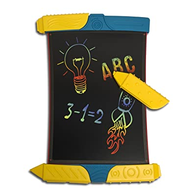 Boogie Board Scribble and Play Color LCD Writing Tablet + Stylus Smart Paper for Drawing eWriter Ages 4+: Toys & Games [5Bkhe0303651]