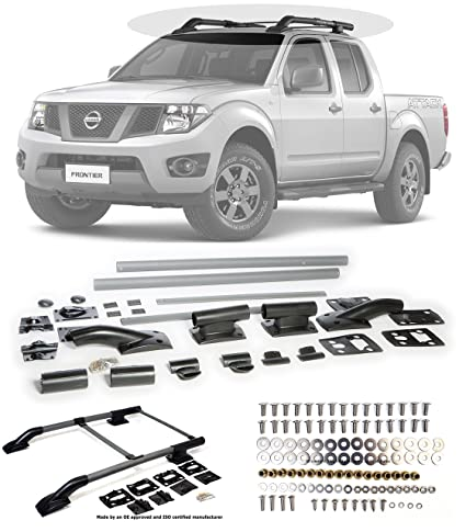 Amazon 2005 2014 Nissan Frontier Silver Roof Top Rack Rail