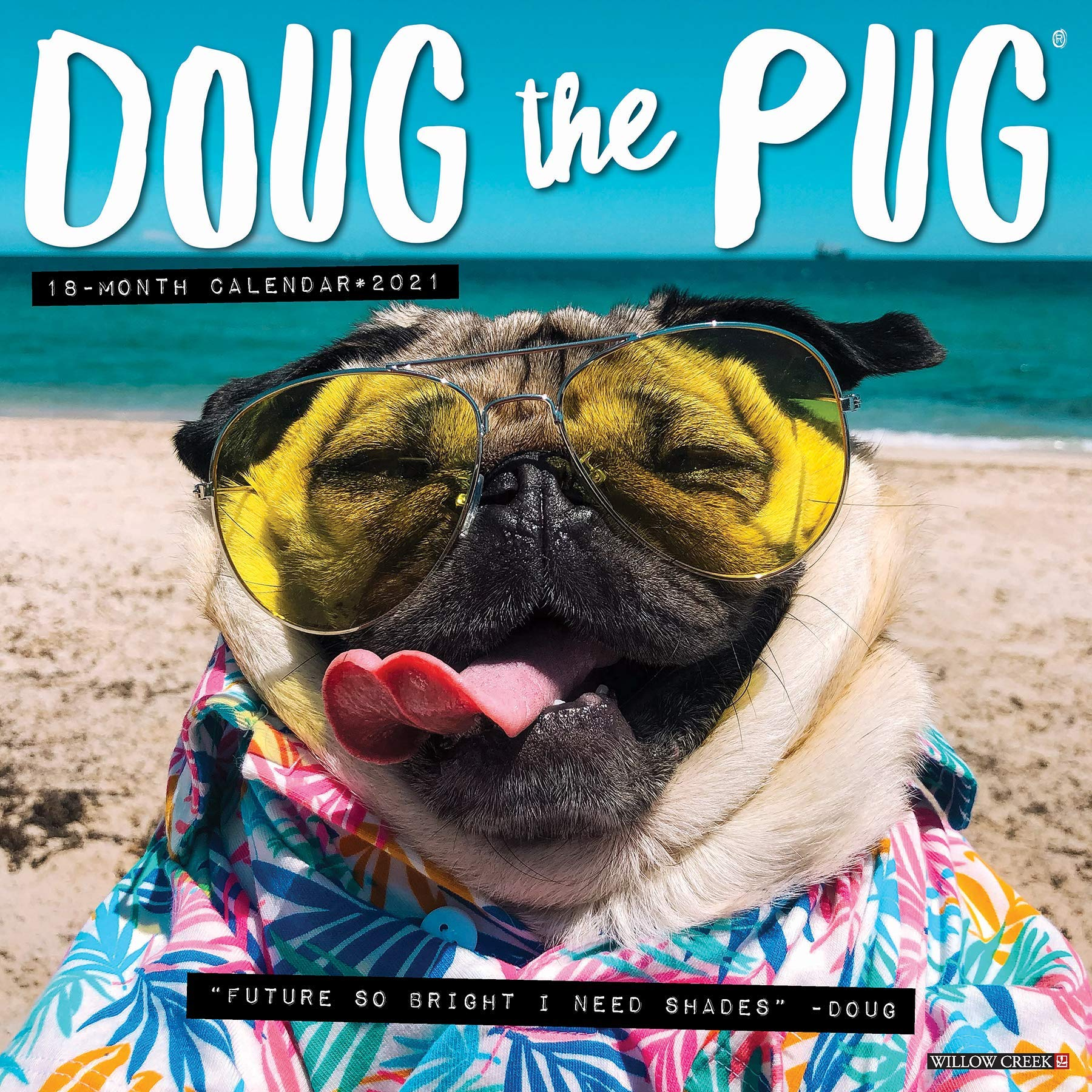 Doug the Pug 2021 Wall Calendar (Dog Breed Calendar): Mosier