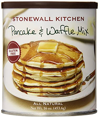 amazon com stonewall kitchen gluten free pancake waffle mix 16 rh amazon com stonewall kitchen pancake mix gift set stonewall kitchen pancake mix recall