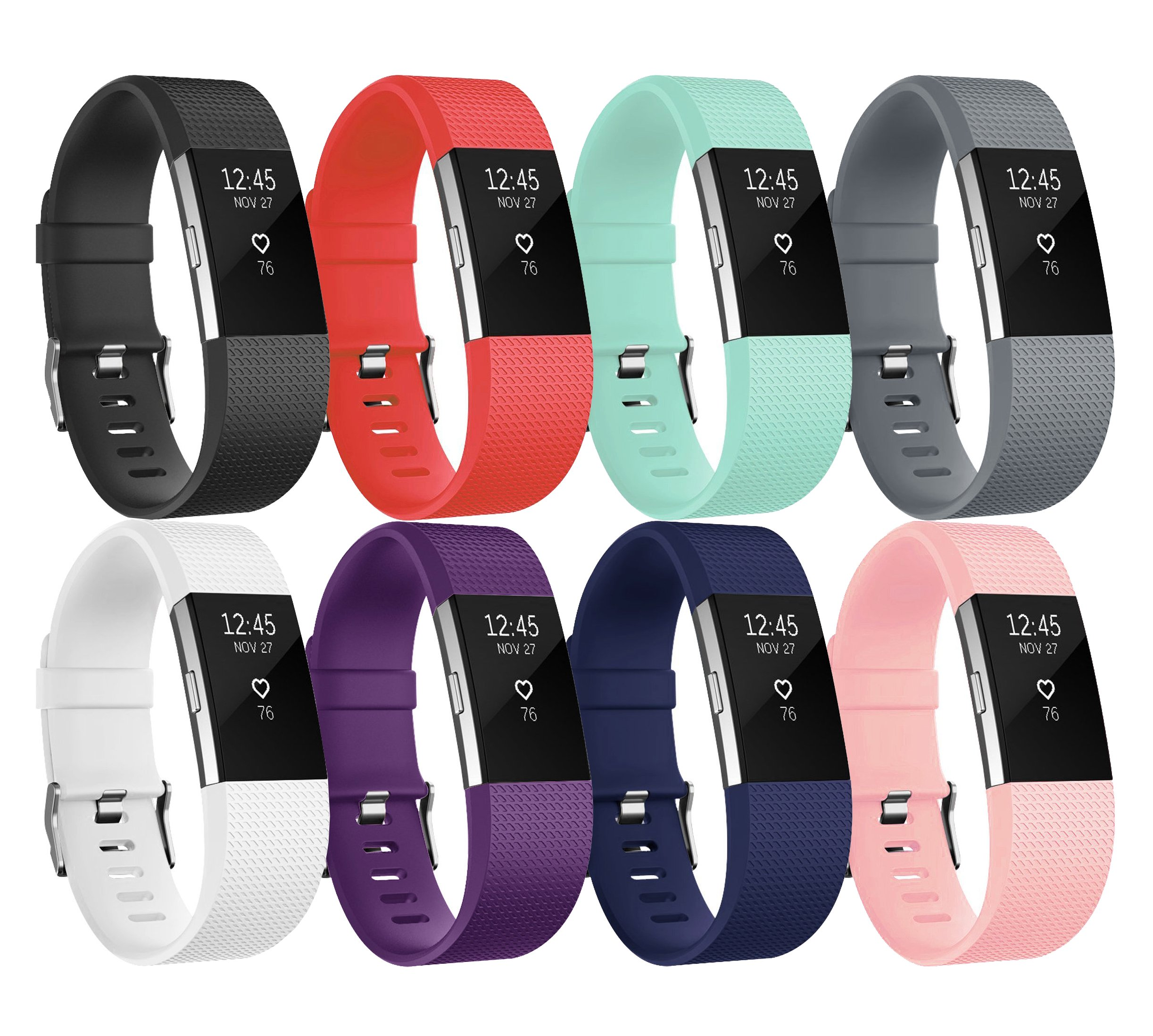 Xterra Paddle Boards >> BeneStellar Fitbit Charge 2 Bands, Silicone Bracelet Strap Replacement Band for Fitbit Charge 2 ...