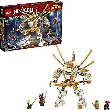 Comprar LEGO Ninjago - Robot Dorado, Juguete de Construcción con Figura de Acción, Incluye a Lloyd, Wu y el general Kozu, a Partir de 8 Años (71702) , color/modelo surtido