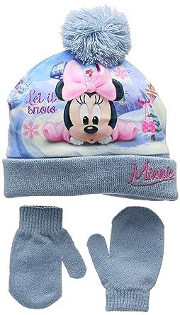 Disney Baby Girls  Minnie Mouse Let It Snow Hat  Amazon.co.uk  Clothing c2b2155d665
