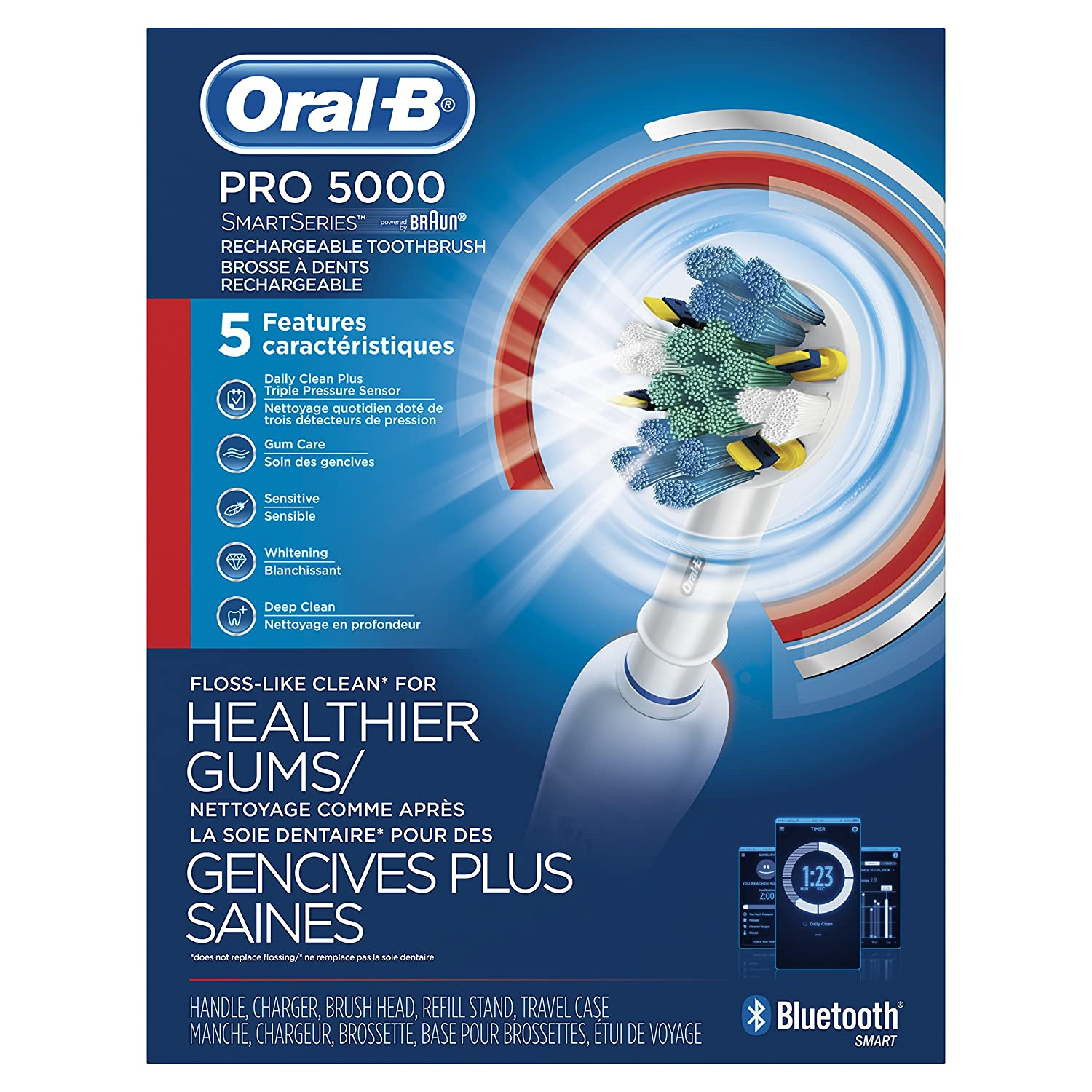 Amazon Oral B Pro 5000 SmartSeries Power Rechargeable