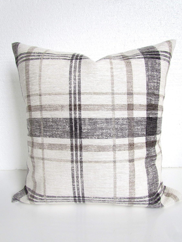 Amazon.com: Gray Throw Pillows Farmhouse Pillows Buffalo Check