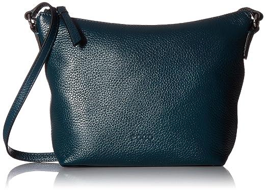 012a2b124f33 ECCO Sp Small Crossbody, Dark Petrol: Handbags: Amazon.com