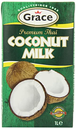 Grace Premium Coconut Milk 1 Litre (Pack of 12)