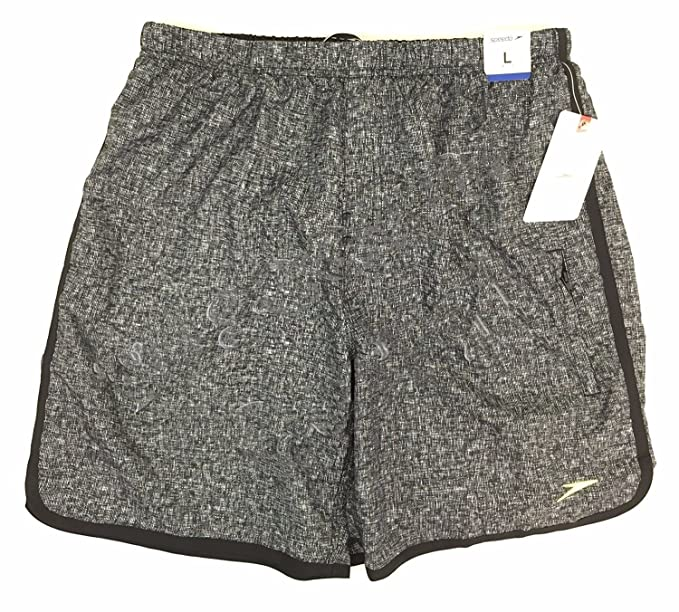 84378da7f8 Speedo Men's Aquagon Colorblock Volley Shorts Workout & Swim Trunks  (Medium, ...