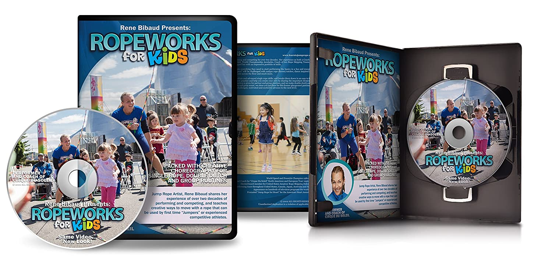 Amazon.com: ropework para niños 2.0 – Cuerda de Saltar DVD ...
