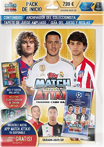 Match Attax 2019//20 19//20 Starter Pack