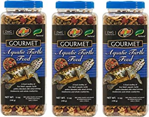 Zoo Med Gourmet Aquatic Turtle Food (Pack of 3)
