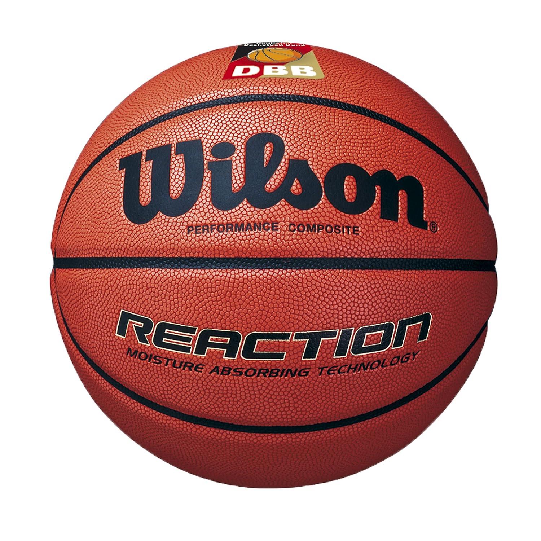 Wilson Reaction Dbb Official, Palla da Basket Unisex Adulto