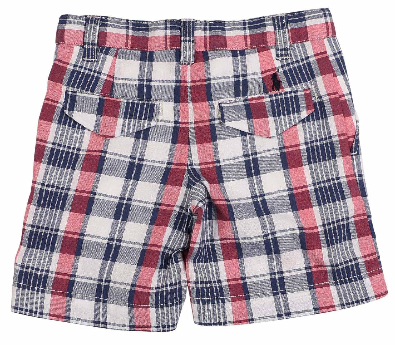 RALPH LAUREN Polo Big Boys 8-20 USA Plaid Shorts