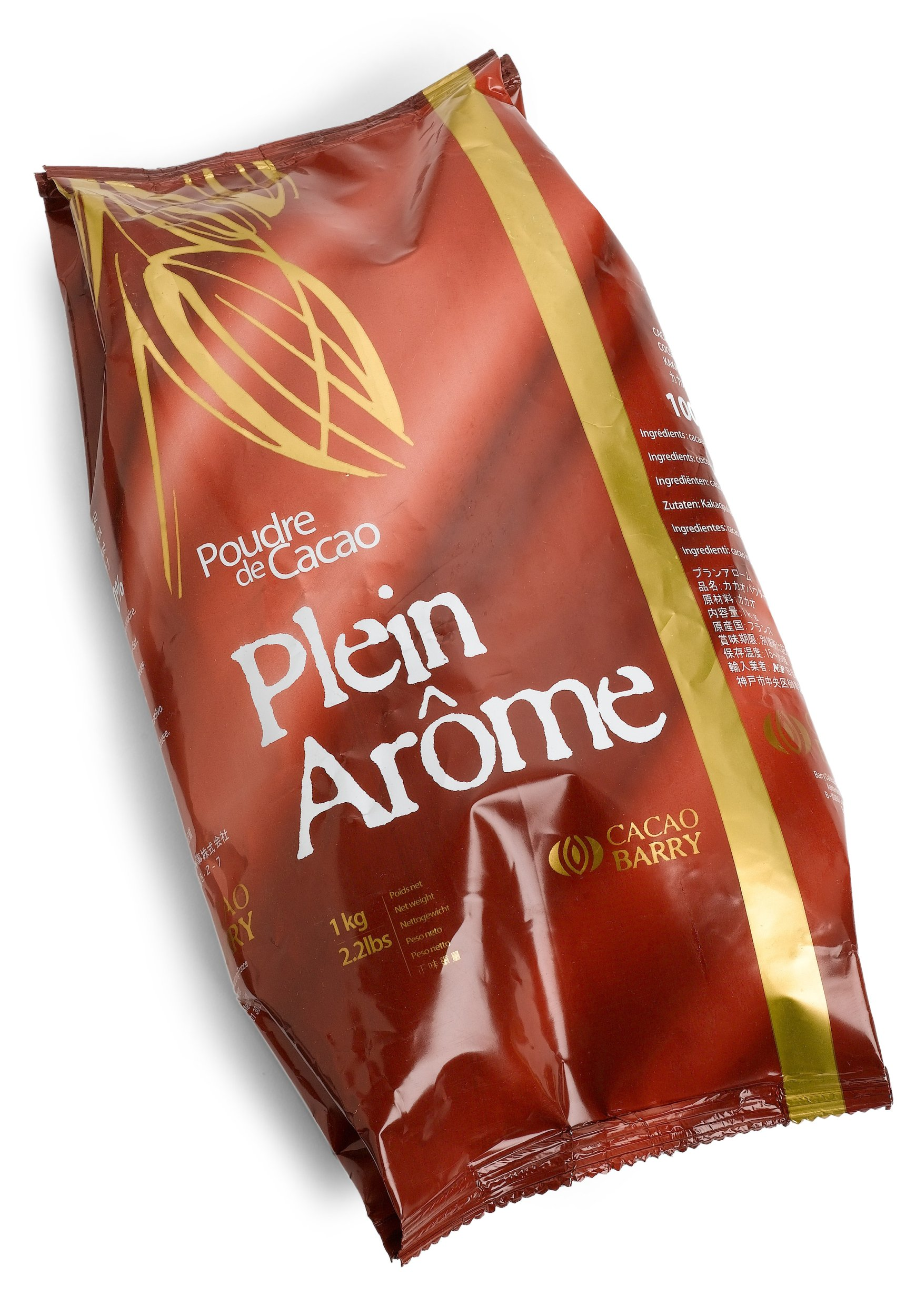 Poudre de Cacao Plein Arome Cocoa Barry (Cocoa Powder), 2.2-Pound Package