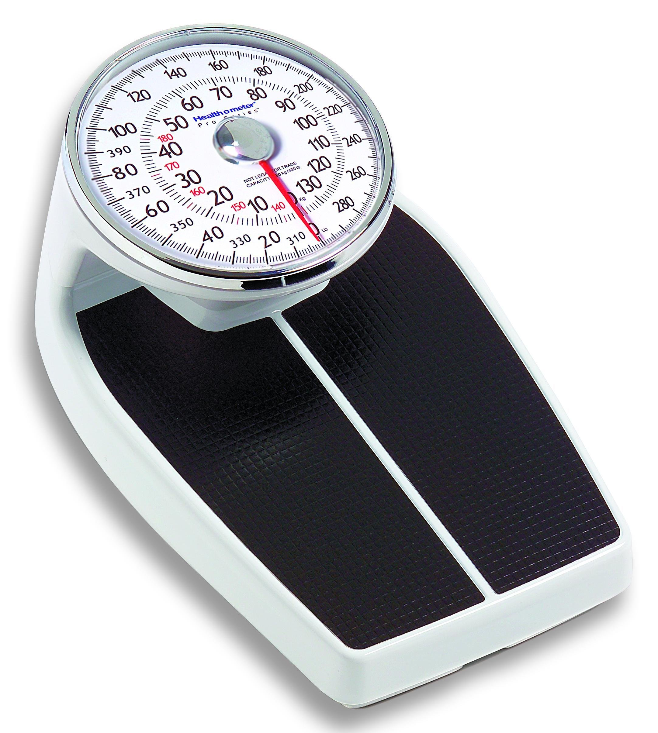 HB160KLEA - Professional Home Care Mechanical Floor Scale 400 lb Capacity (Raised Dial)