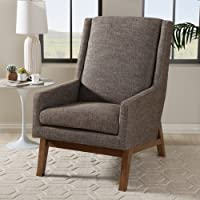 Baxton Studio Aberdeen Lounge Chair In Wood