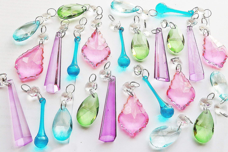 Kronleuchter Kristalle Reinigen ~ Verschiedenen kronleuchter drops paket sets in transparent oder