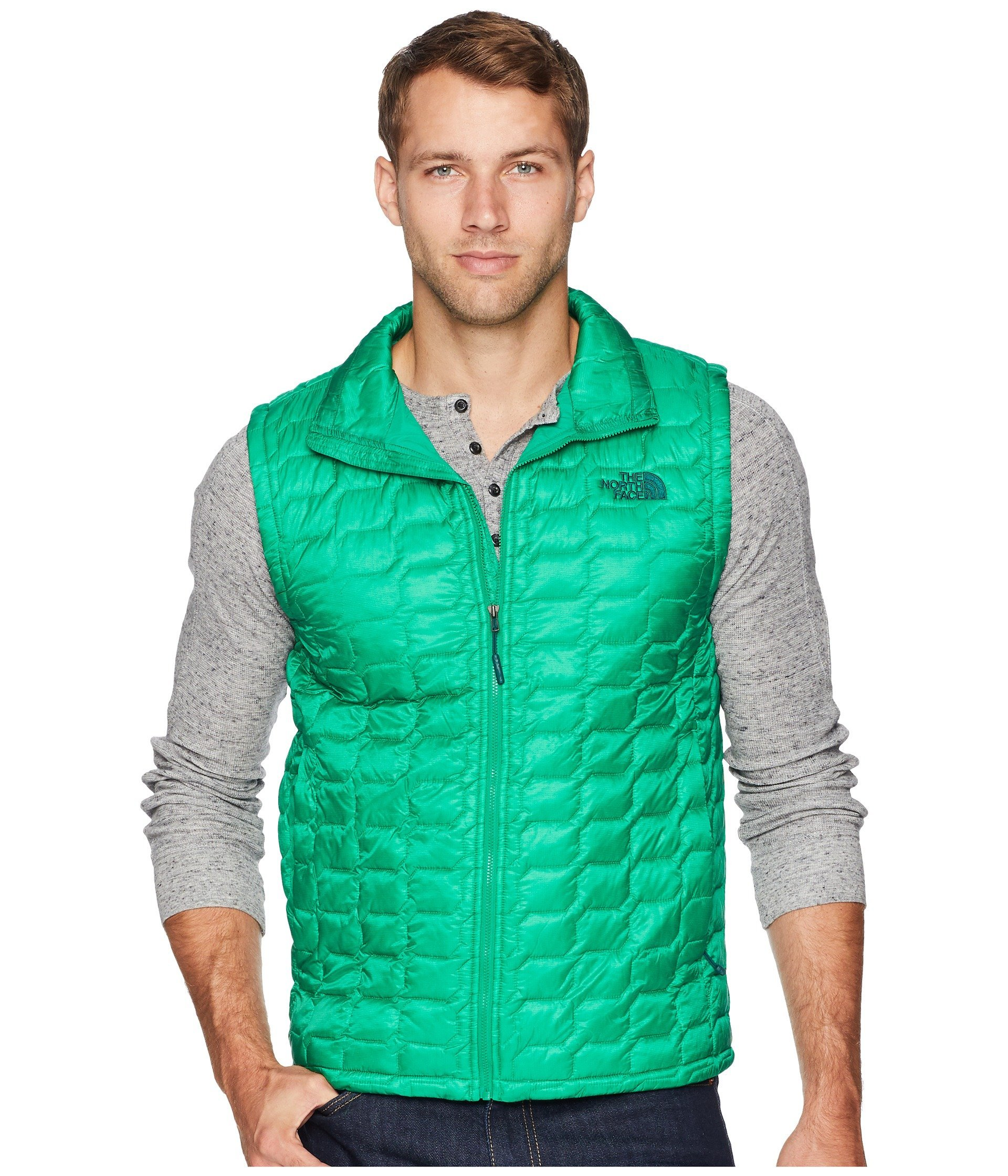 The North Face Men's Thermoball Vest - Primary Green - L by The North Face