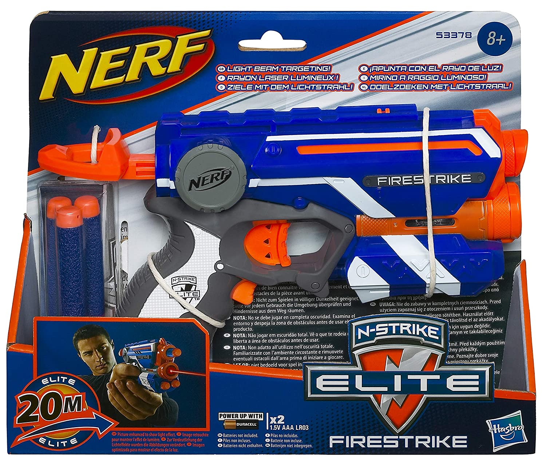 Colors Vary Hasbro Nerf N Strike Elite Firestrike Blaster 53378E35