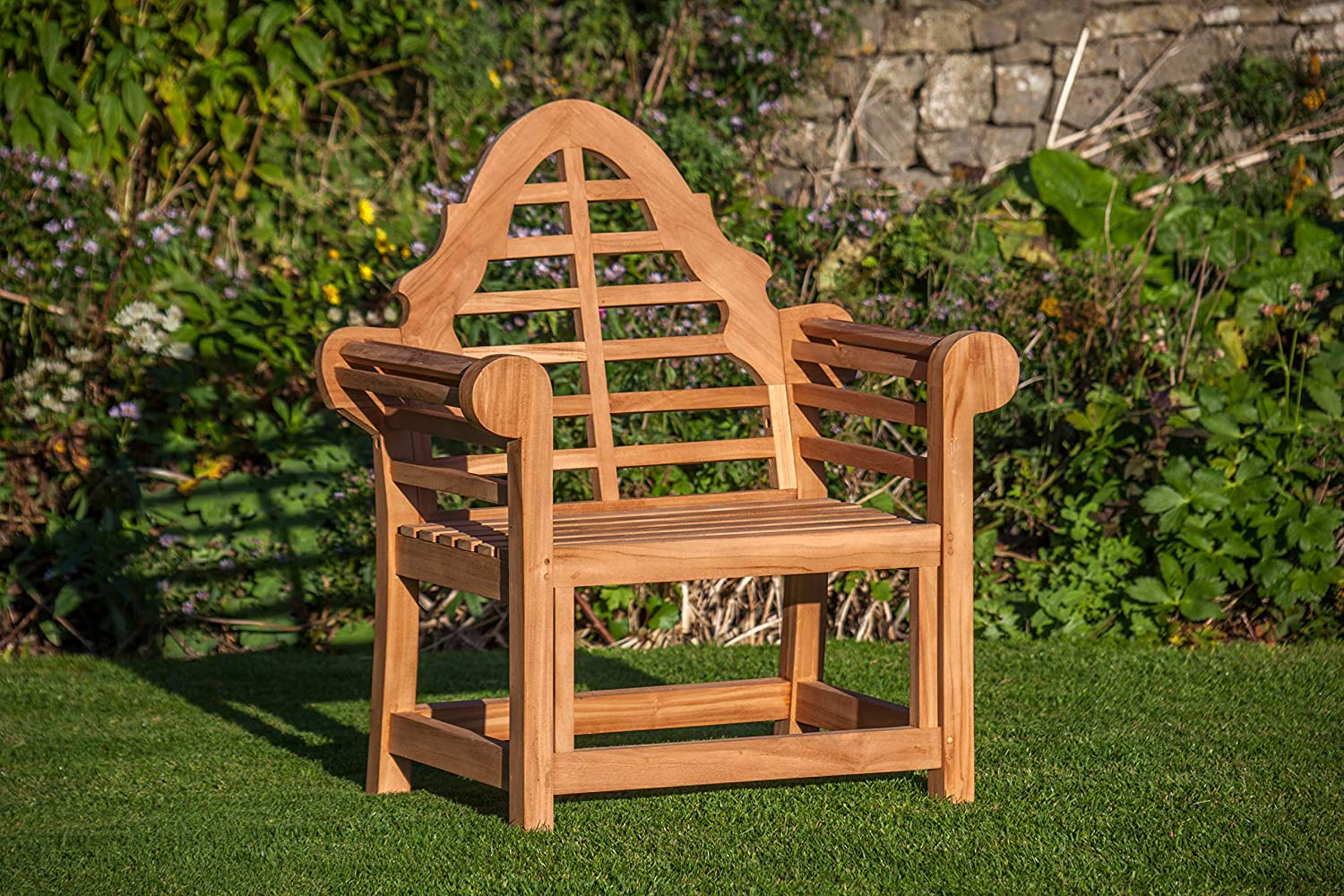 THE SISSINGHURST LUTYENS TEAK GARDEN CHAIR