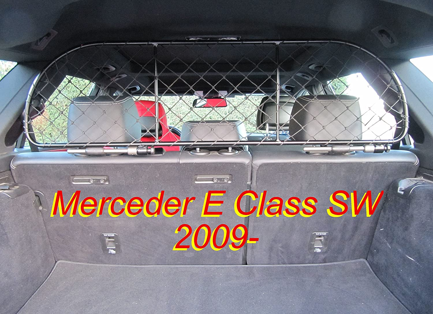 ERGOTECH Separation Net Barrier Mesh Dog Guard For Mercedes E Class Sw Estate from 2010 Onwards