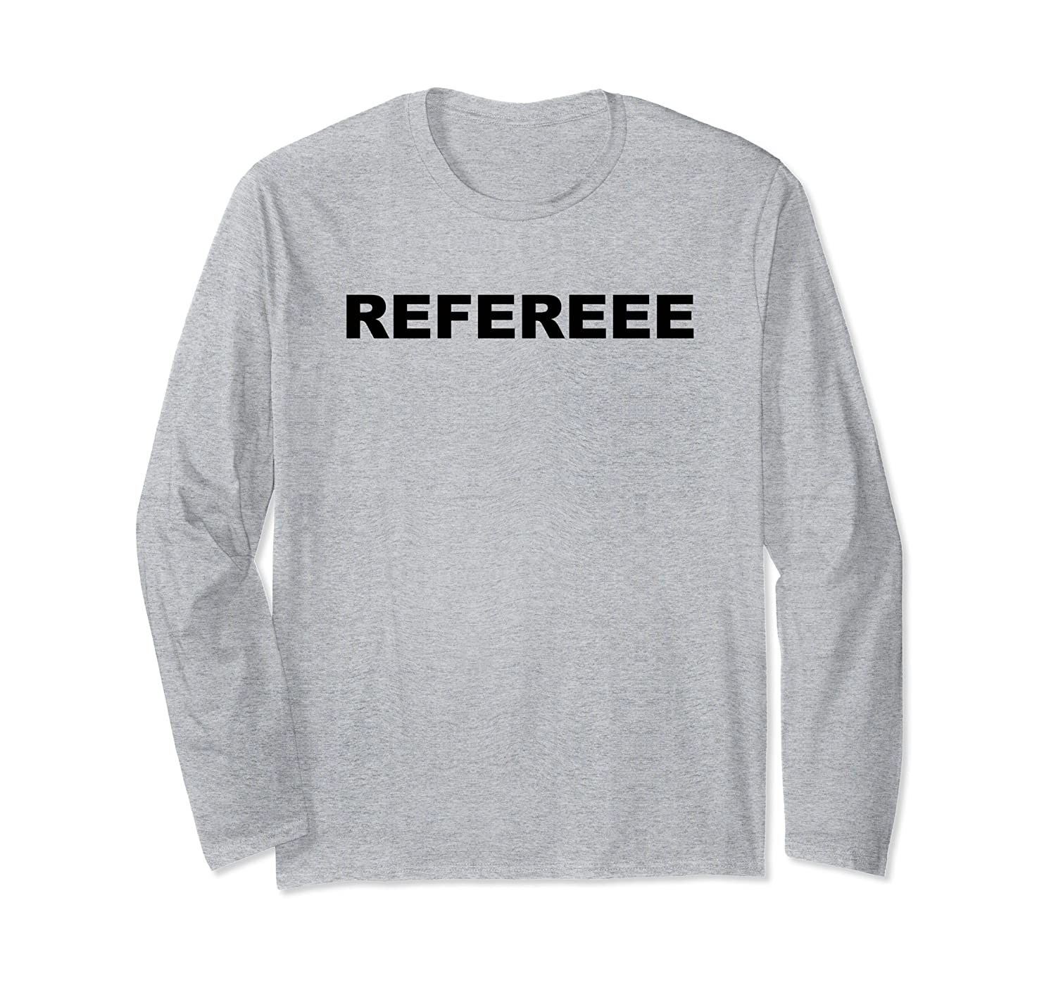 Simple Sports Referee / Ref Long Sleeve Shirt for Officials-alottee gift