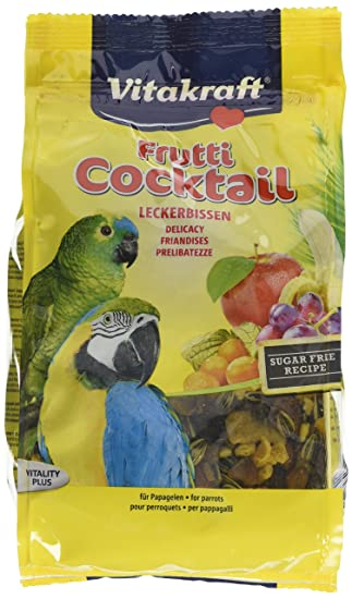 Vitakraft Parrot Cocktail Frutti 250 g (Pack of 6): Amazon.es: Electrónica