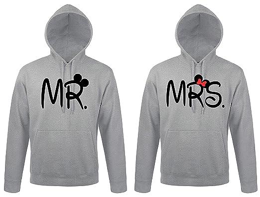 bd6757eb09 TRVPPY Partner Herren + Damen Hoodie Set Mister & Misses - Mr. & Mrs ...