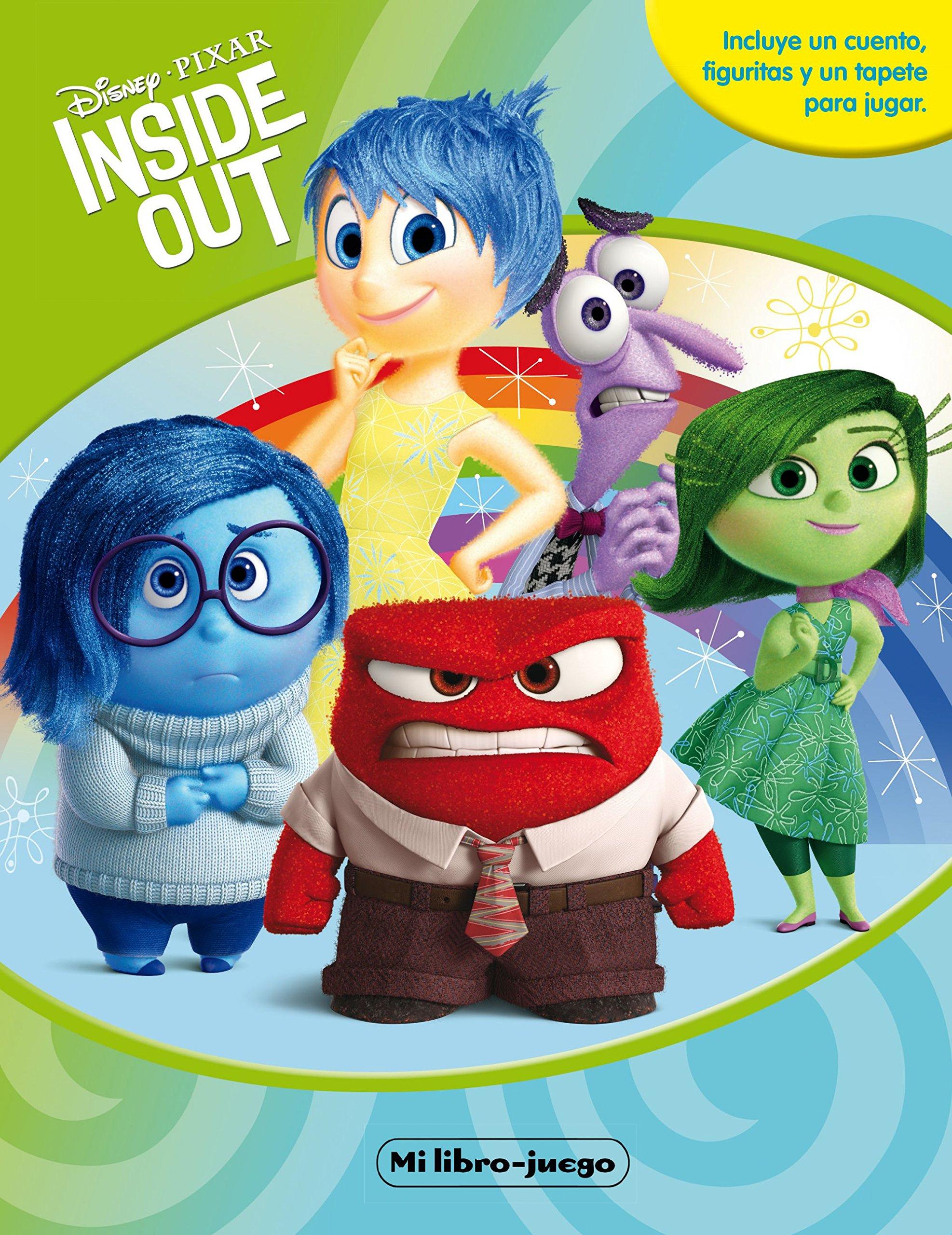 Inside Out. Mi libro-juego (Spanish) Board book – 2015. by Disney ...